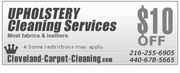 Cleveland,OH upholstery cleaning
